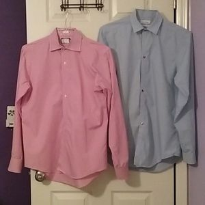 Two casual men's shirts